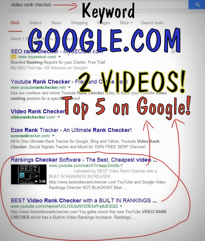Rank Videos On YouTube And Google